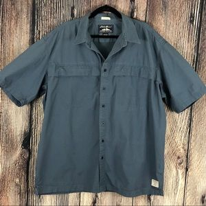 Eddie Bauer McNary Hiking Fishing Shirt XL Tall